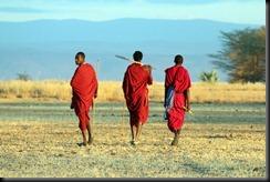 October 23, 2012 3 masai men