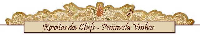 barra receitas dos chefs peninsula vinhos