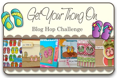 Get Your Thong On Blog Hop Challenge