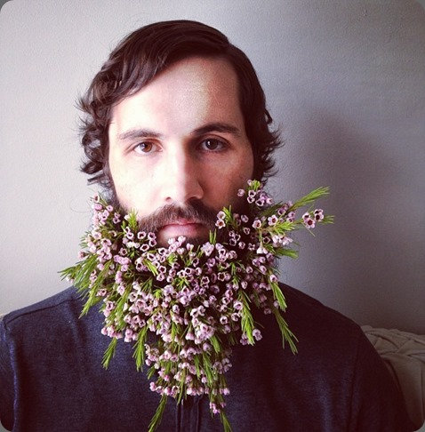 husband sarah winward flower beard 2  Carissa Gallo photo