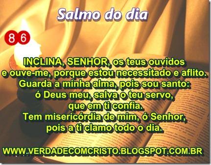 SALMO DO DIA 86