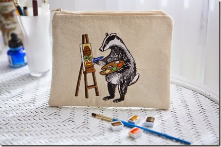 Badger Painting5