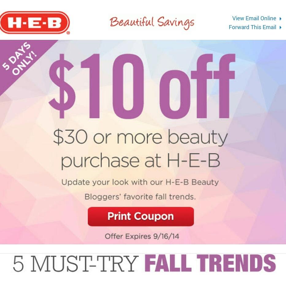 Cosmetics now coupon