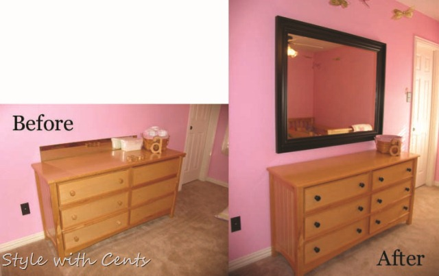 Ashley's room before after 1