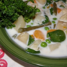 Indian Summer Vegetable Soup