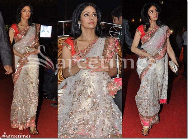 Sridevi_White_Saree
