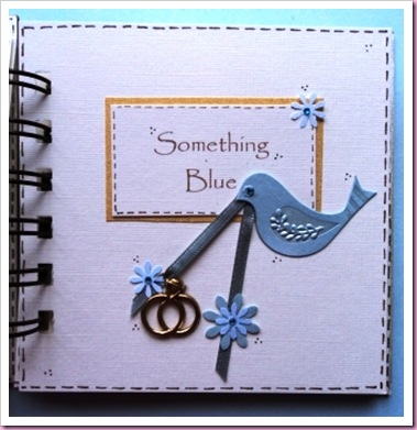 Something Blue Brides Wedding Book