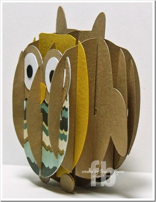 Owl Sliceform2 wm