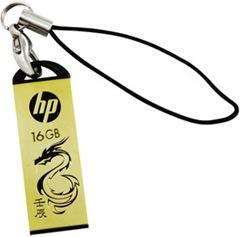 HP V 228 G 16GB Pen Drive (Gold)