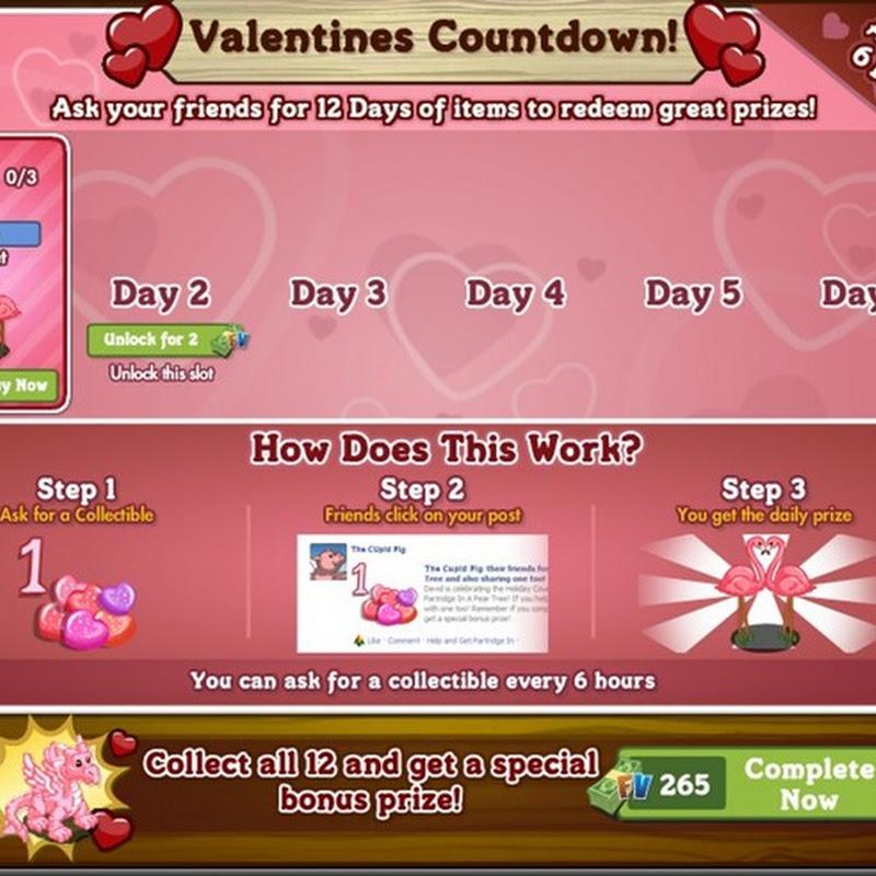 Valentines Countdown 2012