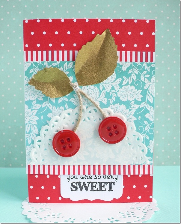 cafe creativo - Anna Drai - big shot sizzix - card - packaging - cherry jam (3)
