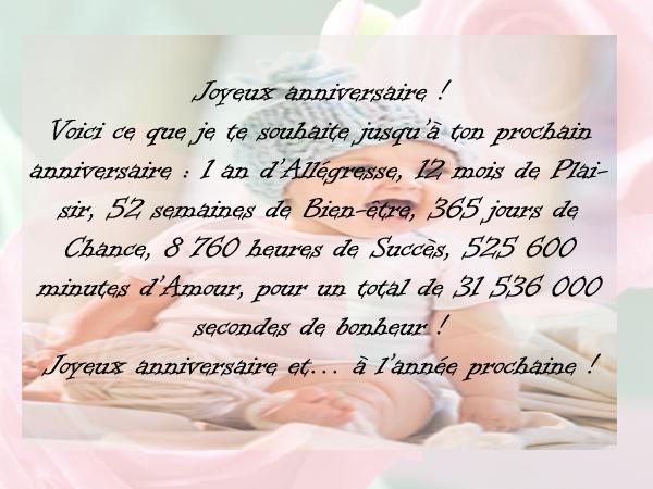 Mot Original Pour Carte D Anniversaire Texte Fiolazoezoey Blog