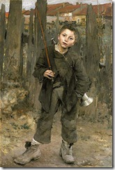 ADHS Bastien-Lepage, Nothing Doing (Barge Boy) 1882