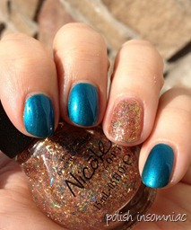 Nicole by OPI Deck the Dolls with A Gold Winter's Night 6