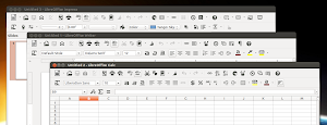 icone flat - monocromatiche su LibreOffice in Ubuntu Linux