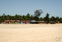 Shacks at Agonda