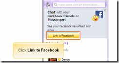 Facebook chat using yahoo