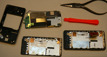 HTC Touch Pro Disassembled