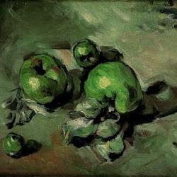 Paul Cezanne (1873): Manzanas verdes. Museo de Orsay. París. Impresionismo
