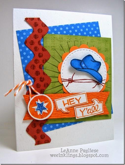 LeAnne Pugliese WeeInklings ColourQ256 Yee-Haw Birthday