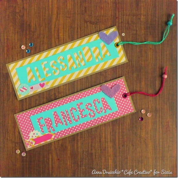 sizzix big shot - kids girls bookmark -  segnalibri by Anna Drai - cafecreativo (1)
