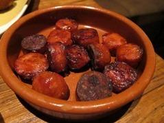 Chorizo a la Plancha