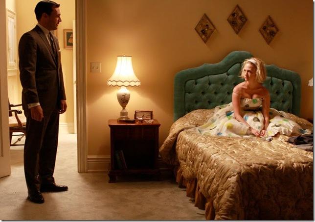 Don Draper and Betty Draper (1)