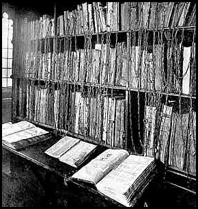 Hereford Cathedral Chained Library, Hereford, Angleterre 04