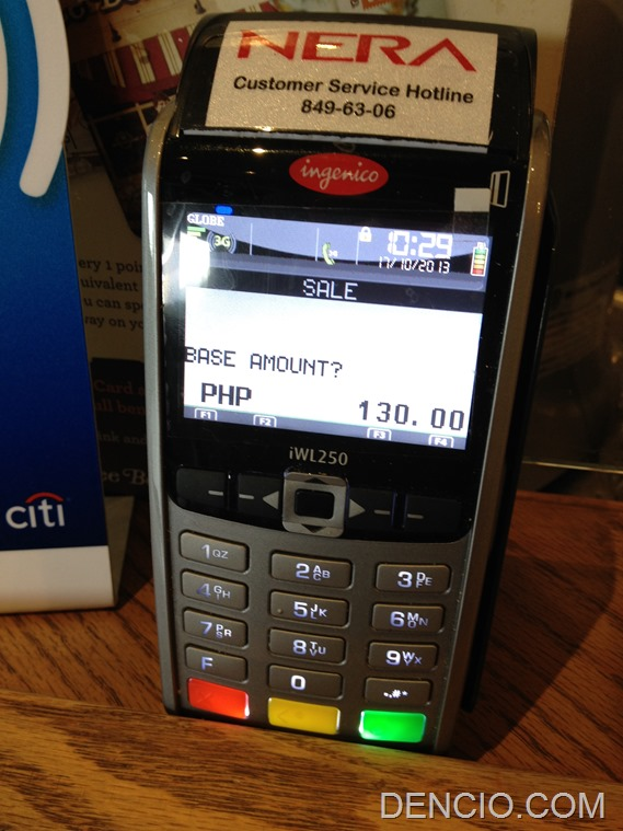 Citibank Visa PayWave Philippines 06