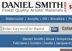 daniel smith artists materials