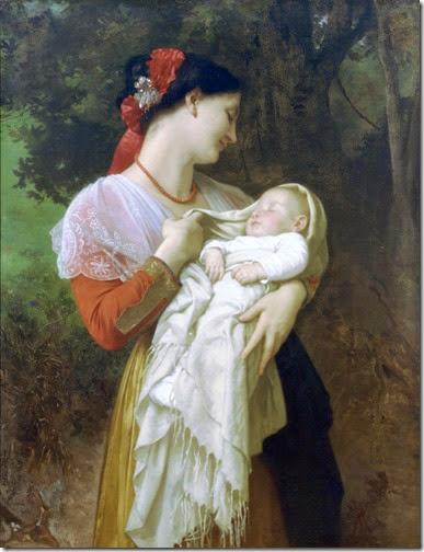 madre con bebe vintage (12)