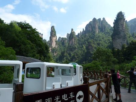 Imagini din China: trenuletul Avatar