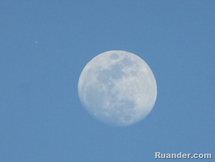 Jupiter and the Moon 1