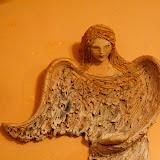 Вот таких чудесных ангелов делают в мастерской Владимиры Конвалинковой.