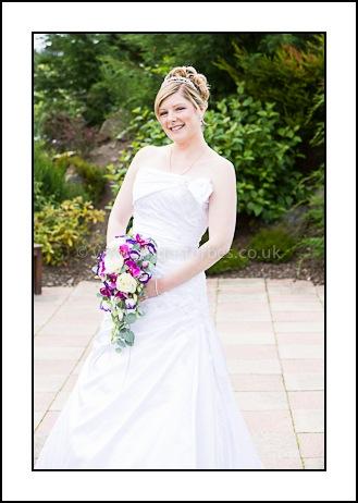 bride at piperdam dundee