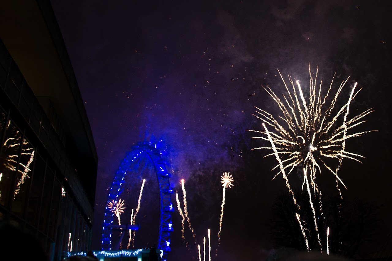 New Year's Eve London 2012