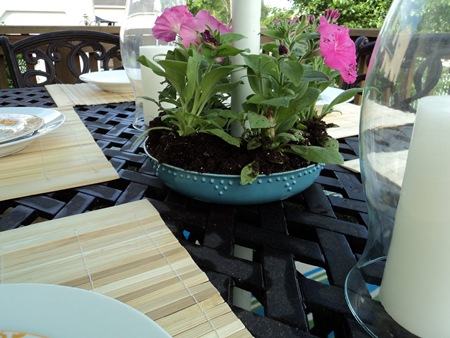 Bundt Pan Outdoor Flower Pot