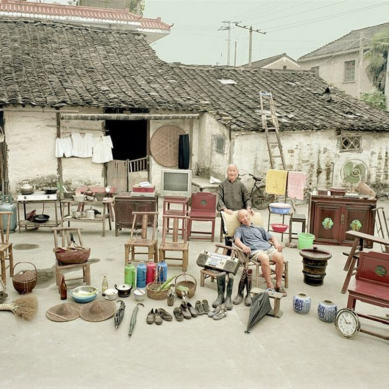 Portraits of Rural Chinese Families with Everything They Own