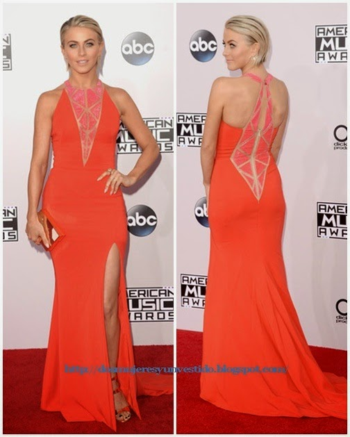 Julianne Hough attends the 2014 American Music Awards (3)