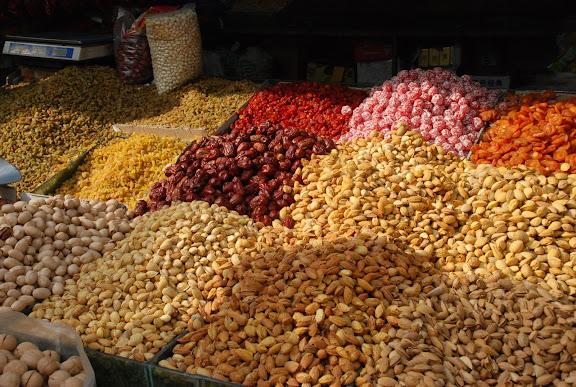 Urumqi - Fruits séchés
