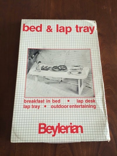 7800 bed tray by Olaf von Bohr for Beylerian, box top