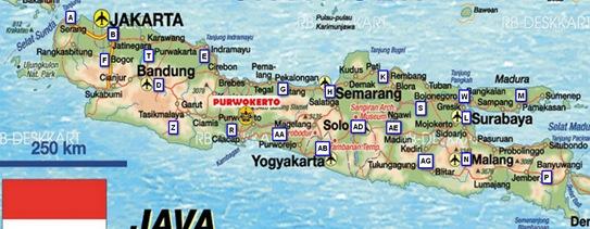 peta plat nomor kendaraan indonesia