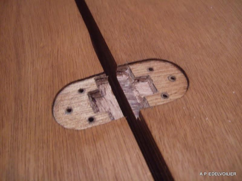 Décaissement au ciseau à bois