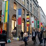 Corso behind the duomo in Milan, Milano, Italy