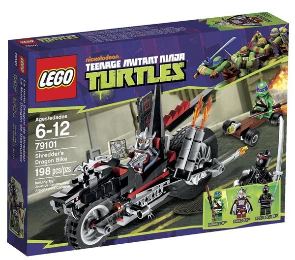Shredder's Dragon Bike