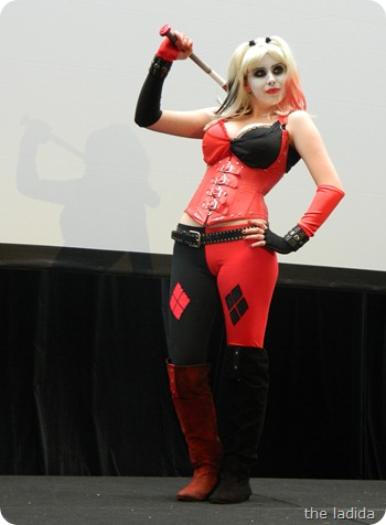 EB Expo Just 'Cos Cosplay Competition - Harley Quinn from Batman