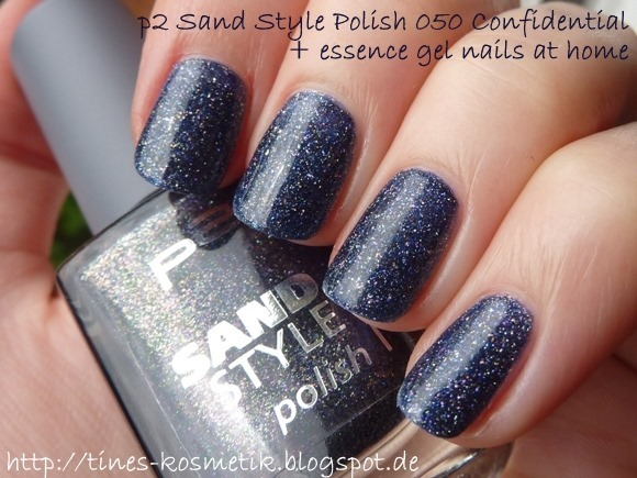p2 Sand Style Polish Confidential mit Gel 2
