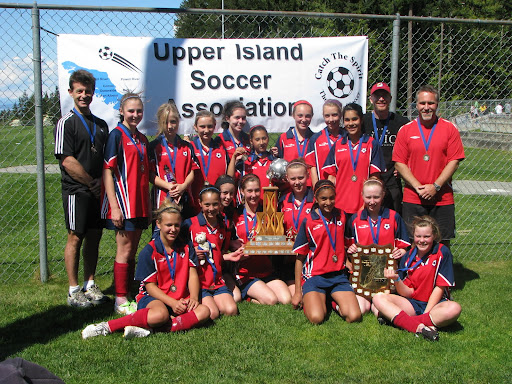 Peninsula Comets - U13 Girls Gold - Island Champions for 2009-2010 season