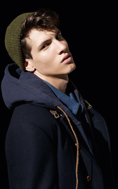 Adrian Cardoso by Daniel Sannwald for Pull & Bear F/W 2011-12.  Styled by Stevie Westgarth