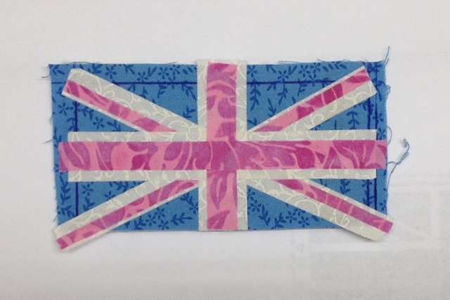 Union Jack Name Tag